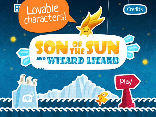 SON of the SUN and WIZARD LIZARD